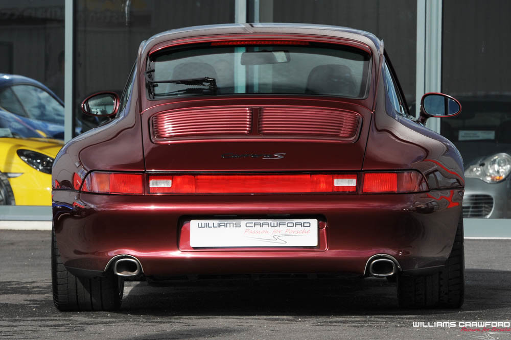 1997 Porsche 993 Carrera 2 S manual coupe For Sale (picture 3 of 6)