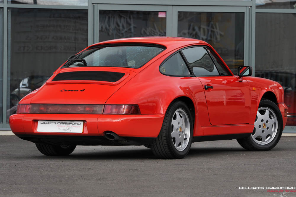1990 RESERVED - Porsche 964 Carrera 4 manual coupe For Sale (picture 3 of 6)