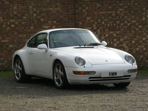Picture of 1995-PORSCHE 911 (993) CARRERA COUPE MANUAL-GRAND PRIX WHITE For Sale