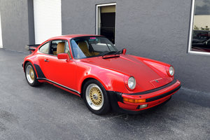 1986 Turbo 930 Coupe 3.3 L clean Red(~)Tan 4 speed $129k For Sale