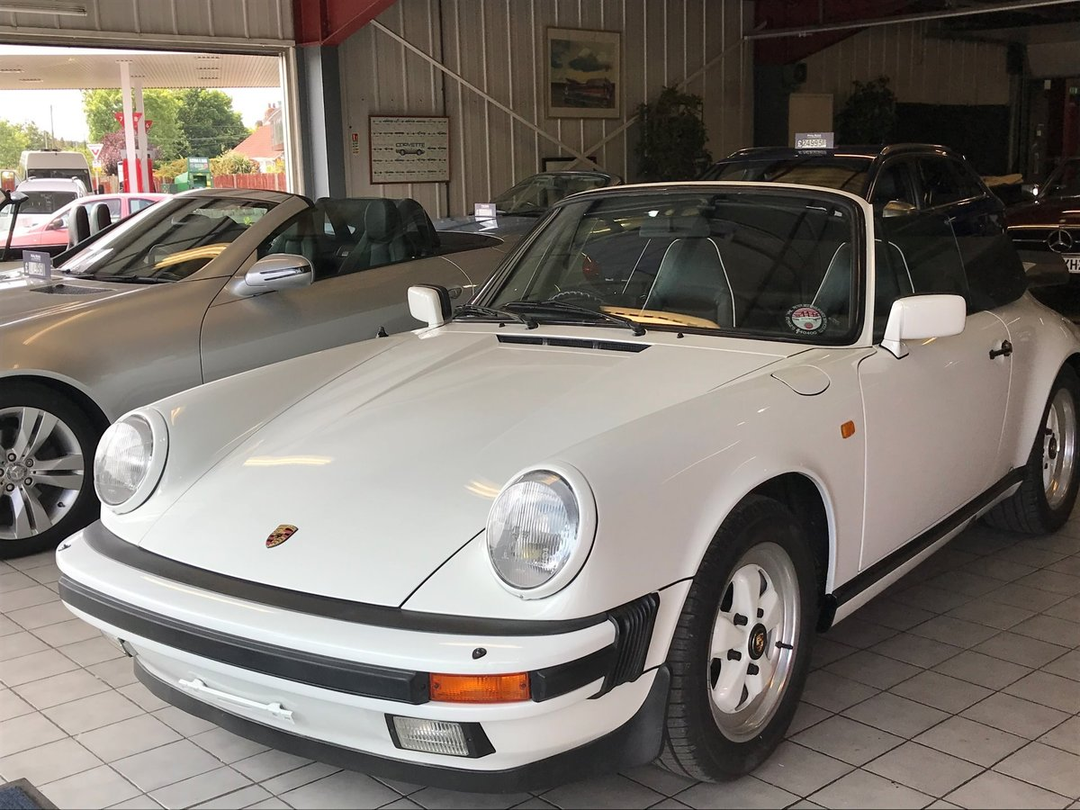 1984 PORSCHE 911 CARRERA 3.2 CONVERTIBLE SOLD (picture 1 of 6)