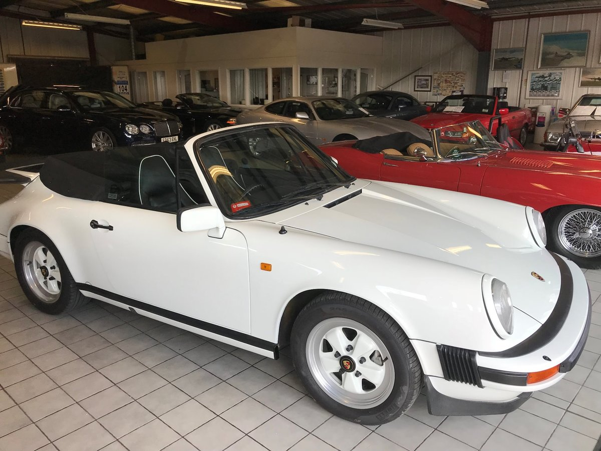 1984 PORSCHE 911 CARRERA 3.2 CONVERTIBLE SOLD (picture 2 of 6)