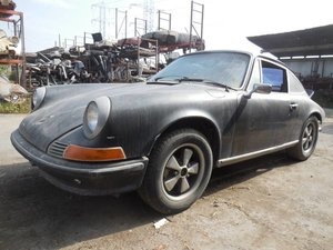 1972 Porsche 911 T Non-Sun Roof Coupe Project Rare $45k usd