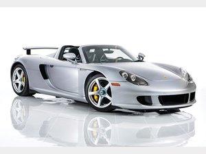 2004 Porsche Carrera GT  For Sale by Auction