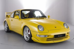 1995 Porsche 993 Carrera RS Clubsport Coupé in Yellow For Sale