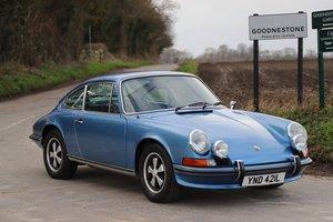 Porsche 911E 2.4 LHD, 1973. Stunning rebuilt example in Ge
