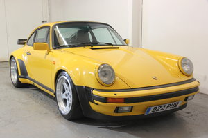 Picture of Porsche 911 Turbo in stunning Speed Yellow. 1986 SOLD