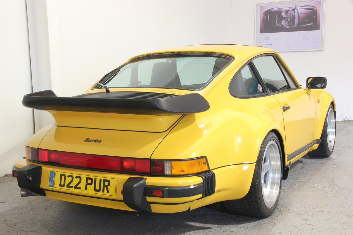 Porsche 911 Turbo in stunning Speed Yellow. 1986 SOLD (picture 2 of 6)