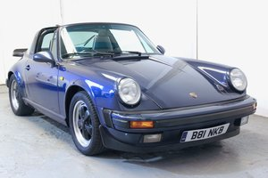 Porsche 911 Carrera 3.2 Targa. Massive history 1985 For Sale