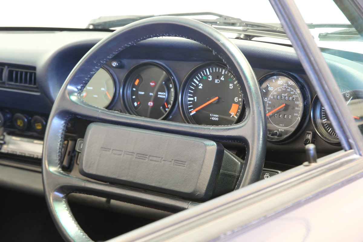 Porsche 911 Carrera 3.2 Targa. Massive history 1985 SOLD (picture 5 of 6)