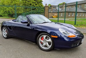 2002 Porsche Boxster S Manual Full OPC History As new