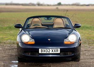 2002 Porsche Boxster SOLD by Auction