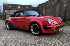 1989 Porsche 911 Speedster Right Hand Drive