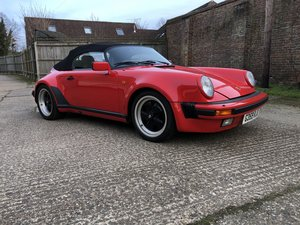 1989 PORSCHE 911 SPEEDSTER RIGHT HAND DRIVE