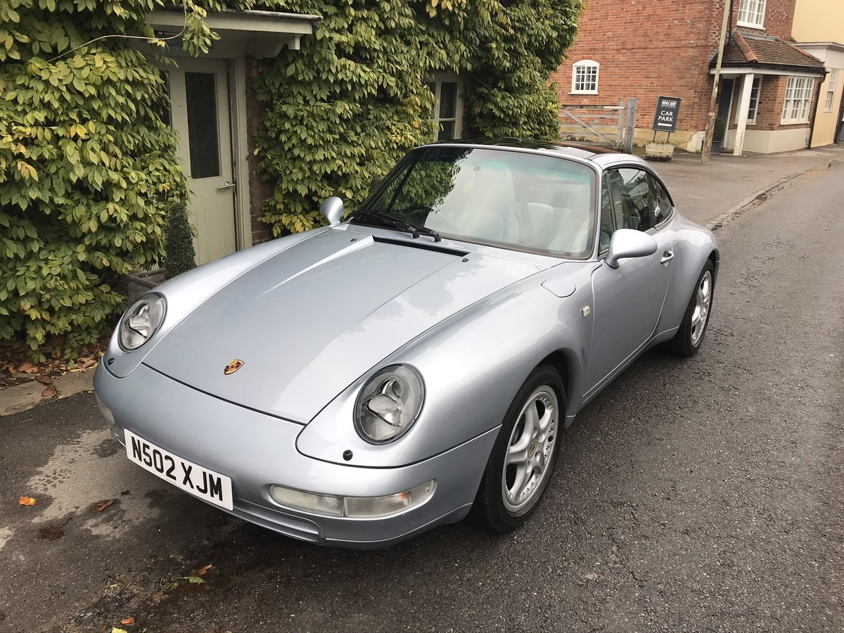 1996 Beautiful and rare 993 Targa in stunning condition & history For Sale (picture 1 of 6)