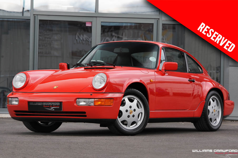 1990 RESERVED - Porsche 964 Carrera 4 manual coupe For Sale (picture 1 of 6)