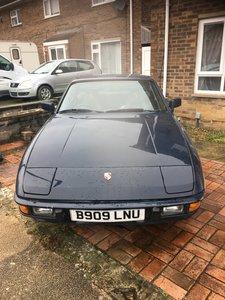 1985 porsche 924 auto low miles 80000 fsh invoices