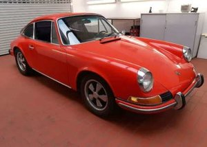 1969 Porsche 912 Blood Orange 1968 LWB For Sale