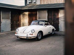 1963 Porsche 356 B 1600 S Cabriolet by Reutter