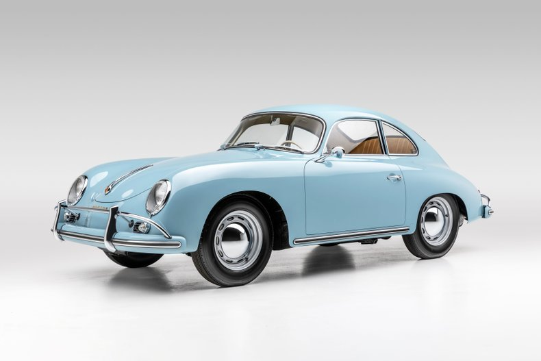 1959 Porsche 356A Coupe Correct 2 owners Blue(~)Tan $obo For Sale (picture 1 of 6)