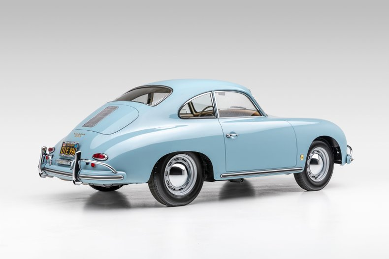 1959 Porsche 356A Coupe Correct 2 owners Blue(~)Tan $obo For Sale (picture 2 of 6)