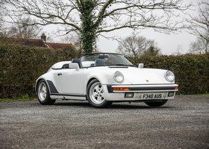 1989 Porsche 911 Speedster For Sale by Auction