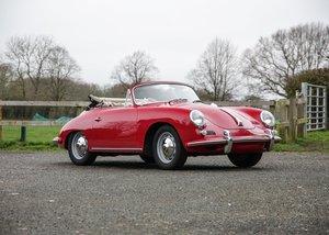 1961 Porsche 356B 1600 Cabriolet For Sale by Auction