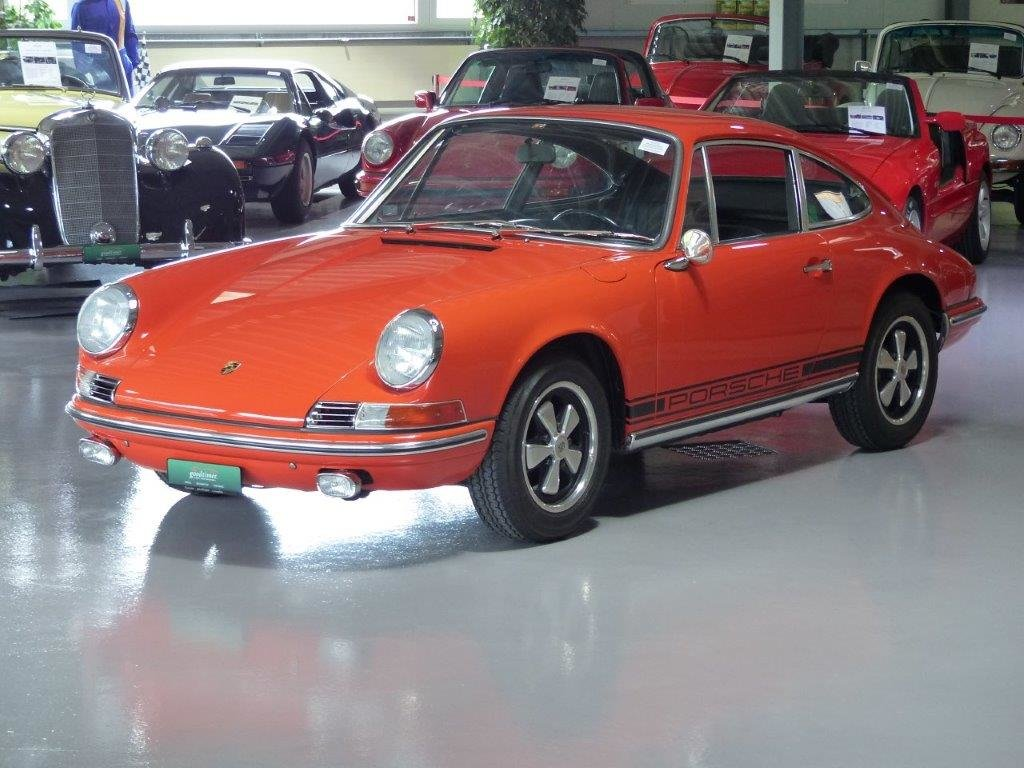 1969 Neuaufbau in Concours Condition mit FIVA-Card, 5-Gang, 1 Jah For Sale (picture 1 of 6)