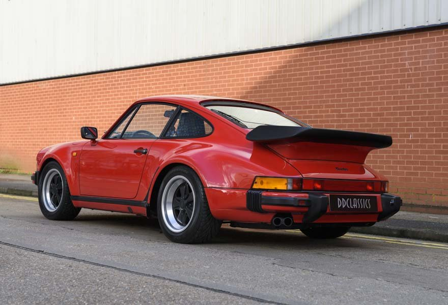 1988 Porsche 930 (911) 3.3 Turbo (LHD) For Sale (picture 4 of 24)