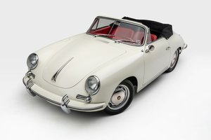 1965 Porsche 356SC Cabriolet Correct Solid Driver Ivory $205