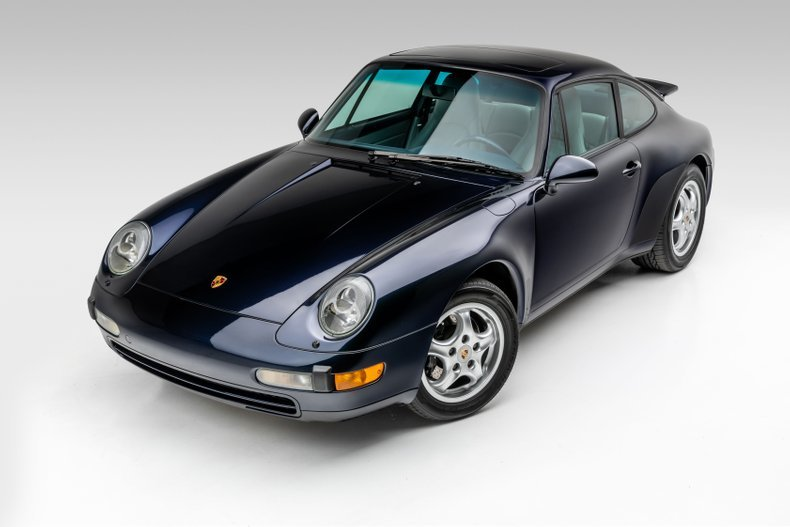 1995 Porsche 911 Carrera Coupe 6 Spd Manual Blue(~)Grey $69. For Sale (picture 1 of 6)
