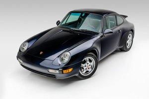 1995 Porsche 911 Carrera Coupe 6 Spd Manual Blue(~)Grey $69.