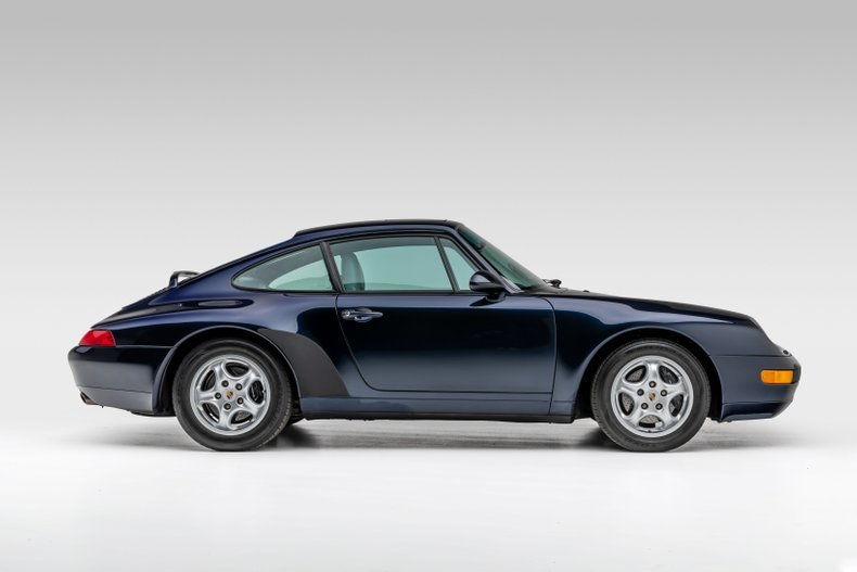 1995 Porsche 911 Carrera Coupe 6 Spd Manual Blue(~)Grey $69. For Sale (picture 2 of 6)