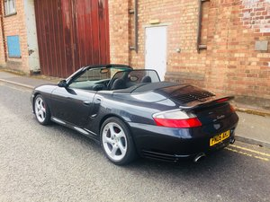 2005 Porsche 911 (996) Turbo in metallic grey with 31K For Sale