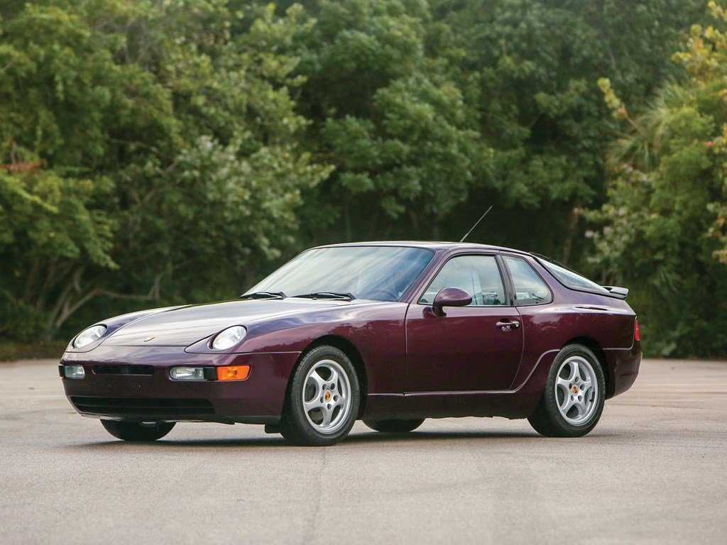 1992 Porsche 968 Coupe For Sale By Auction Car And Classic