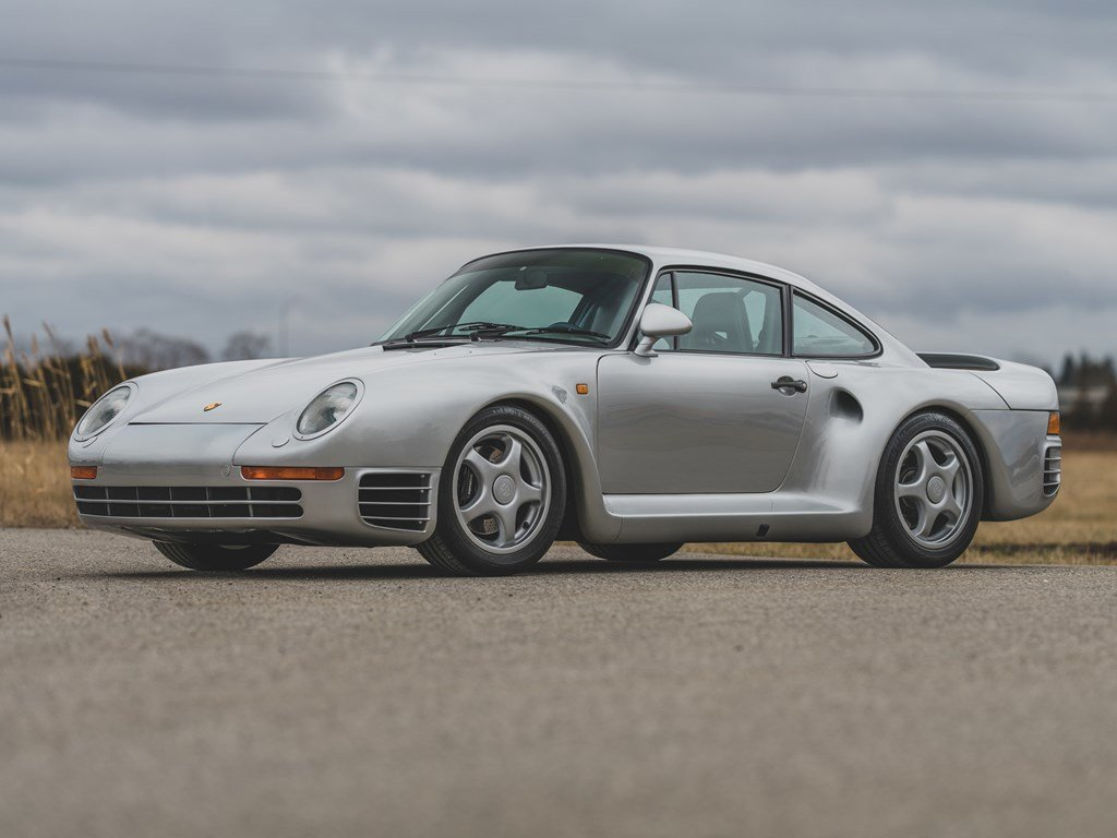 1987 Porsche 959 Komfort  For Sale by Auction (picture 1 of 6)