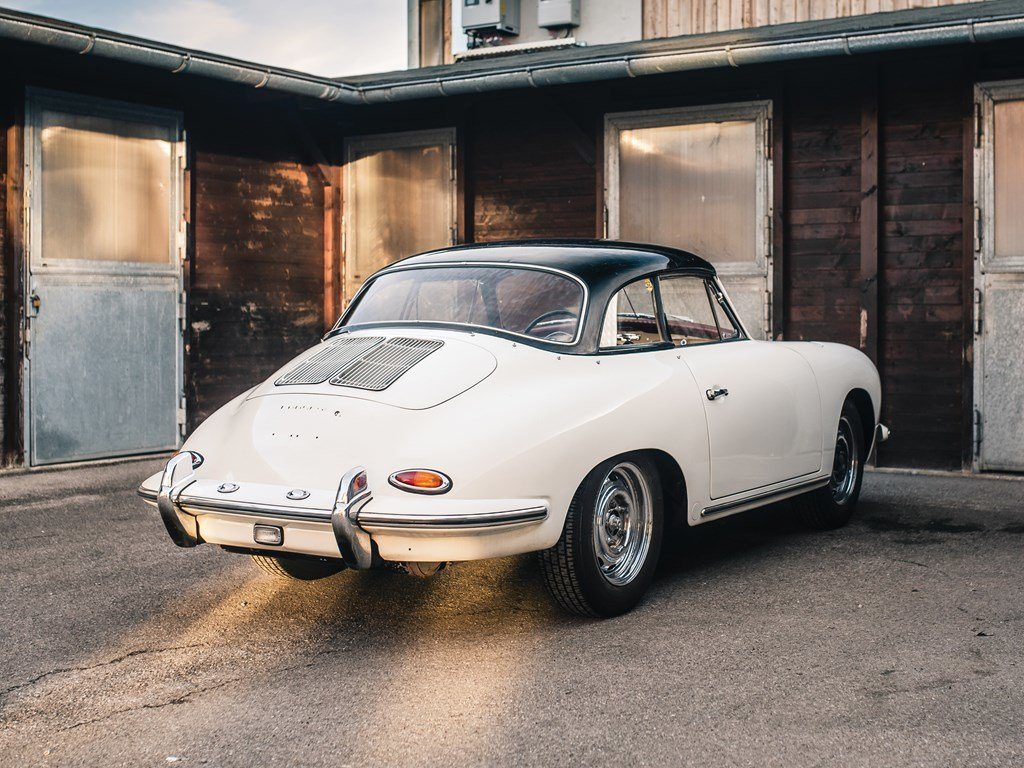 1963 Porsche 356 B 1600 S Cabriolet by Reutter For Sale by Auction (picture 2 of 6)