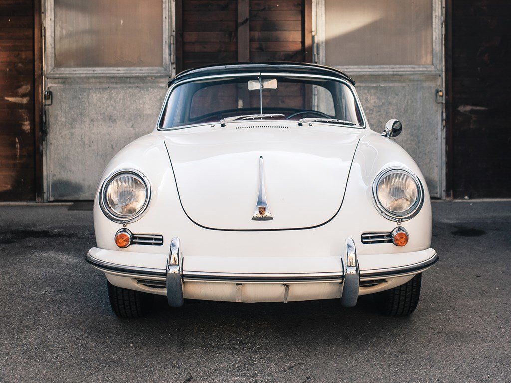 1963 Porsche 356 B 1600 S Cabriolet by Reutter For Sale by Auction (picture 6 of 6)