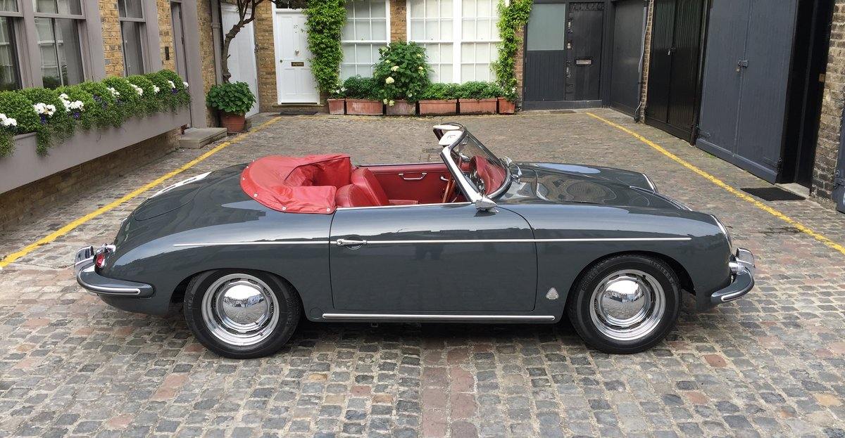 1961 Porsche 356B Roadster  For Sale (picture 2 of 6)
