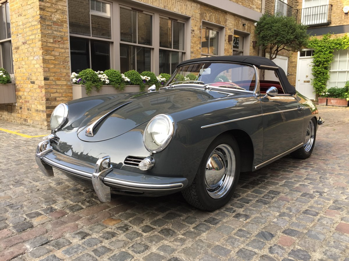 1961 Porsche 356B Roadster  For Sale (picture 4 of 6)