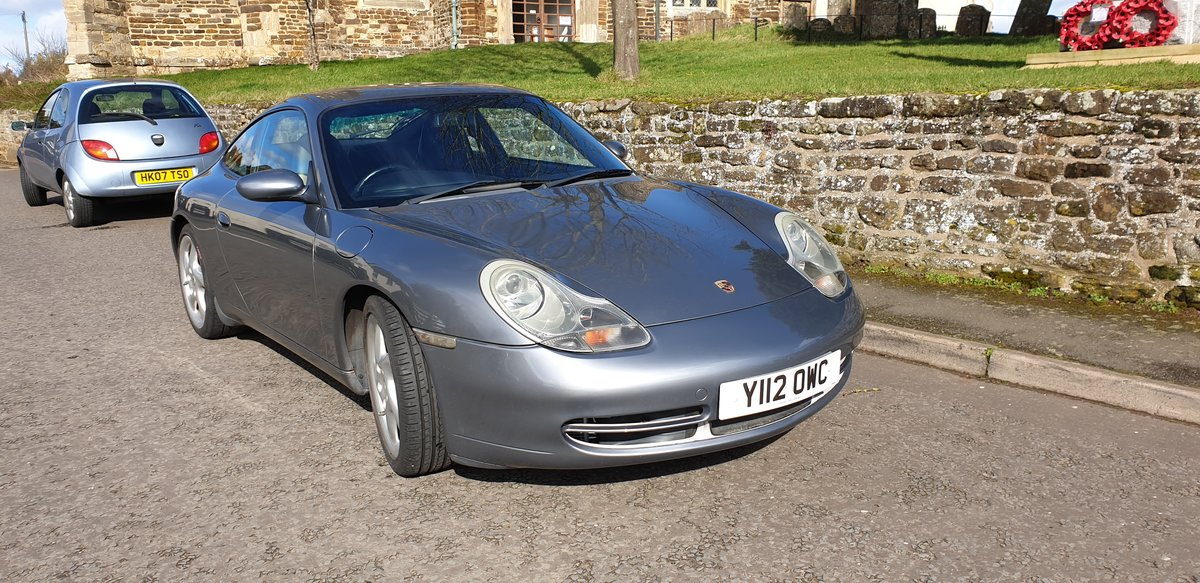 2001 Porsche 911 996 Carrera 3.4 For Sale (picture 1 of 6)