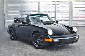 1991 Porsche 911 Carrera 2 964 convertible 61k miles G50 $46 For Sale