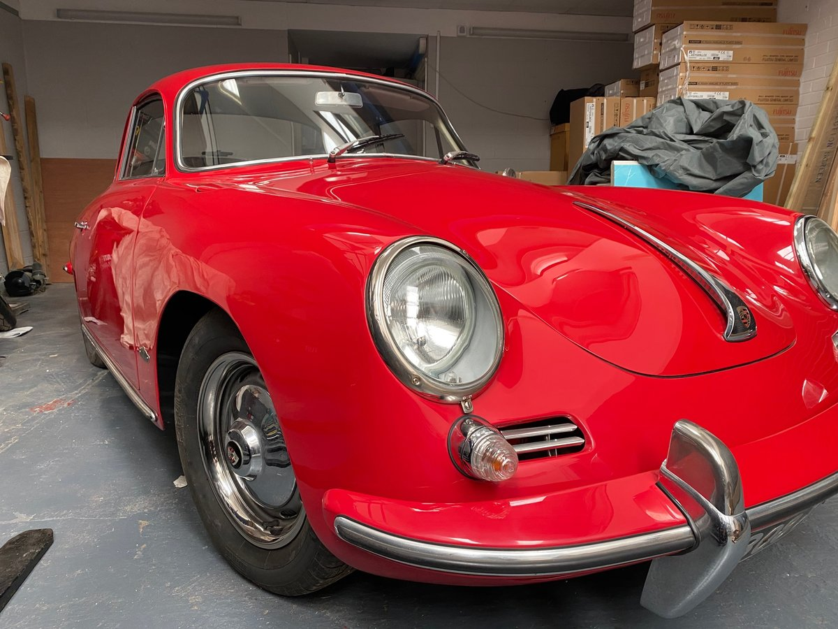 1962 Porsche 356B Karmann Coupe SOLD (picture 1 of 5)
