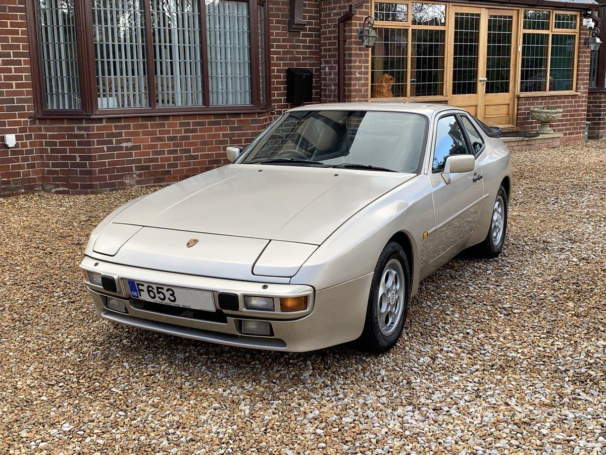 1989 Porsche 944 2.7L rare model P/X  WELCOME For Sale (picture 1 of 6)