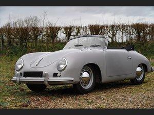 1954 Porsche 356 1500 Cabriolet by Reutter