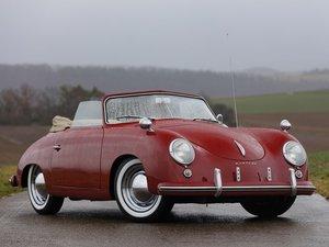 1953 Porsche 356 Cabriolet by Reutter For Sale by Auction