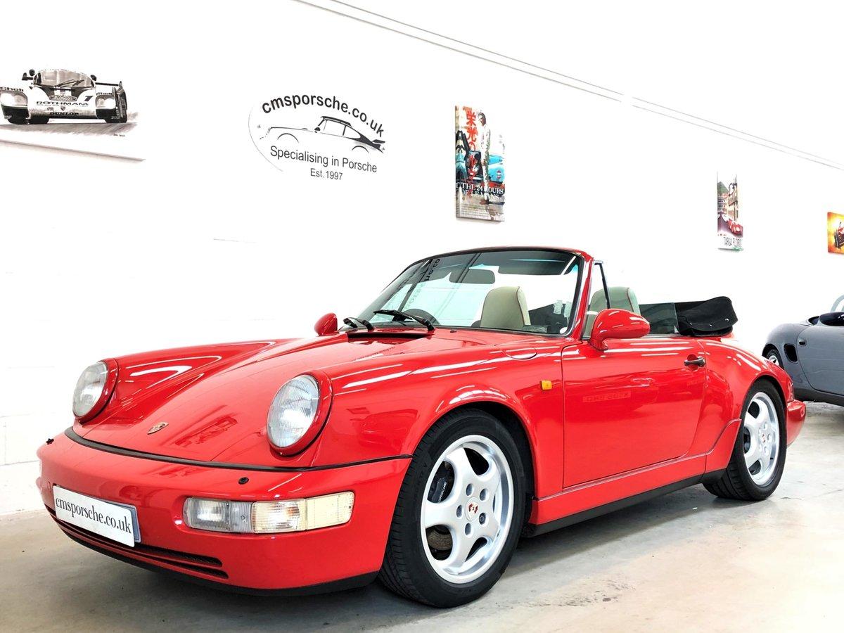 1991 Porsche 911 964 carrera 4 C4 Convertible SOLD (picture 1 of 6)