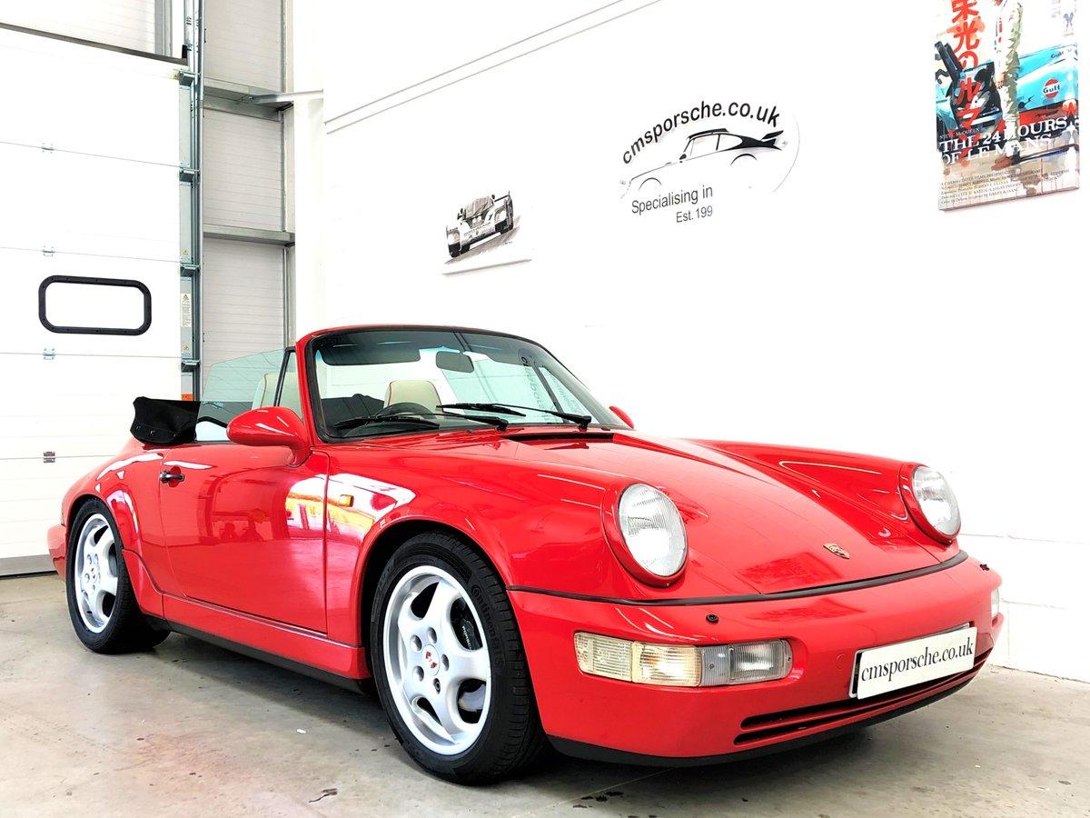 1991 Porsche 911 964 carrera 4 C4 Convertible SOLD (picture 4 of 6)
