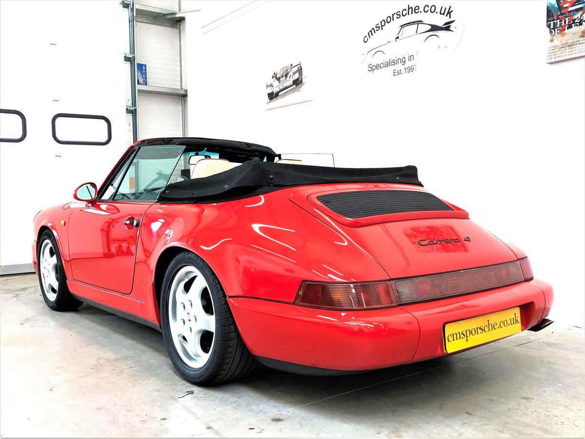 1991 Porsche 911 964 carrera 4 C4 Convertible SOLD (picture 6 of 6)