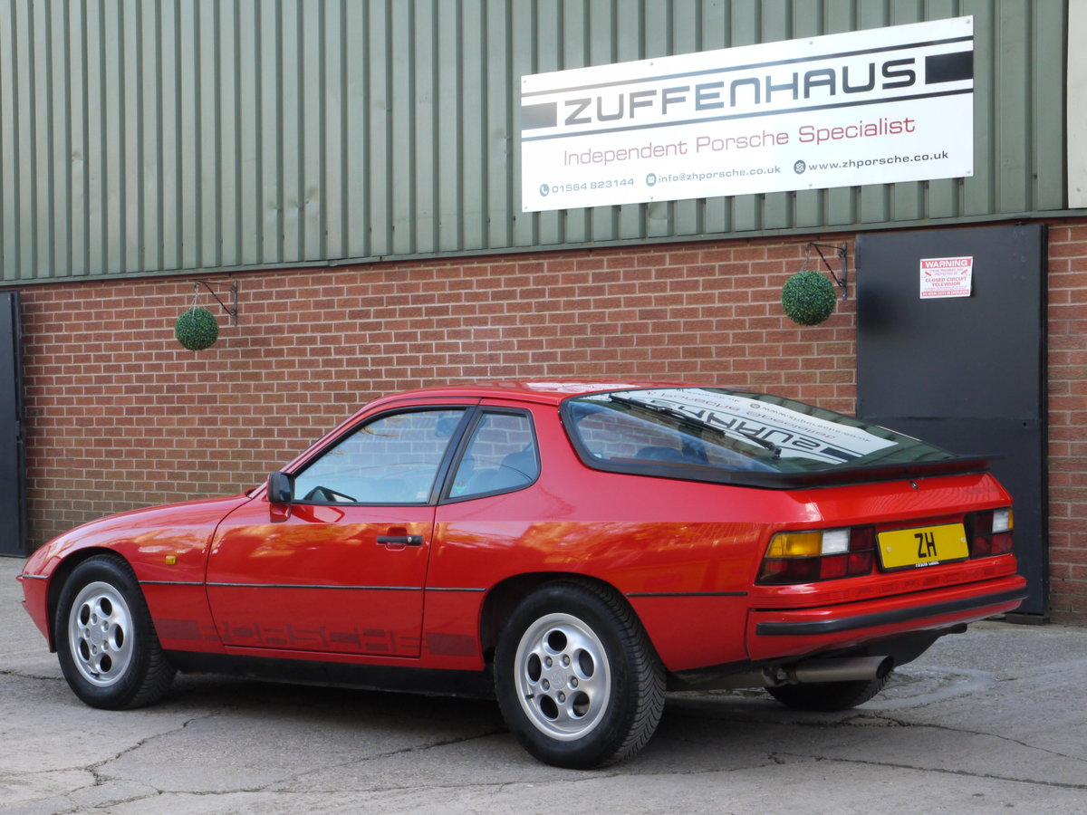 1986 PORSCHE 924 S 2.5LTR For Sale (picture 4 of 6)